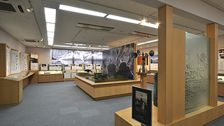 1F) Permanent exhibition room
